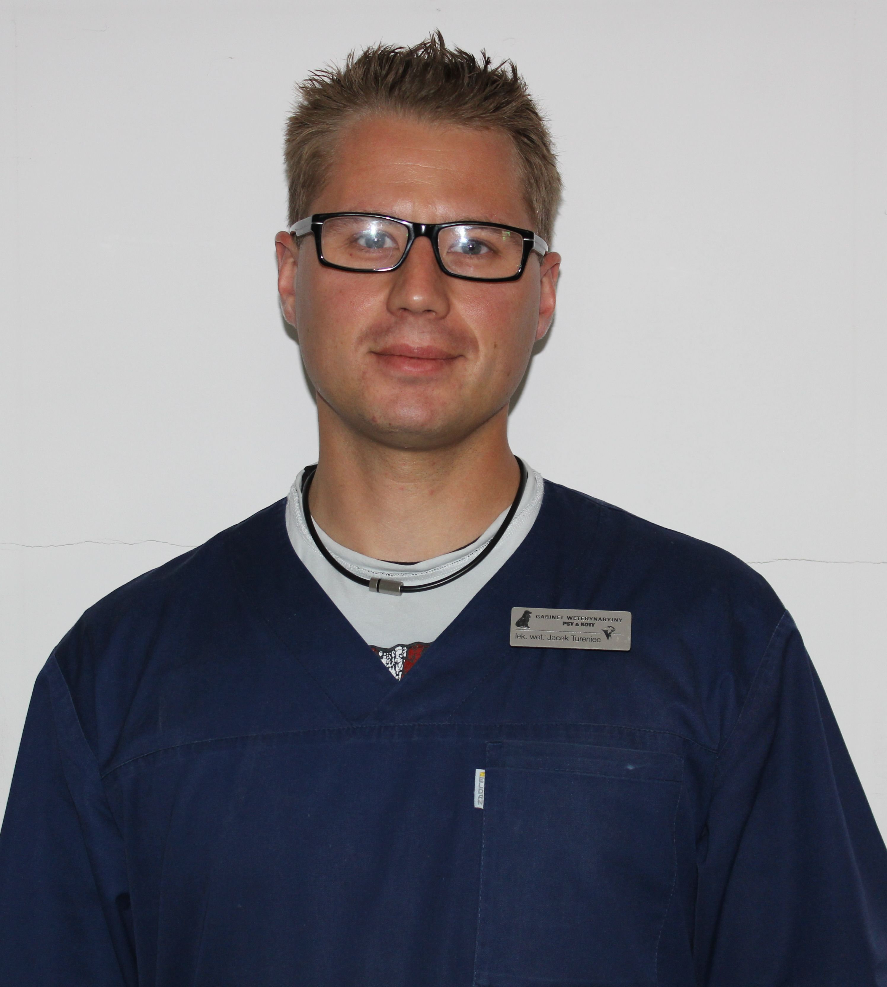 Lekarz weterynarii Jacek Tureniec